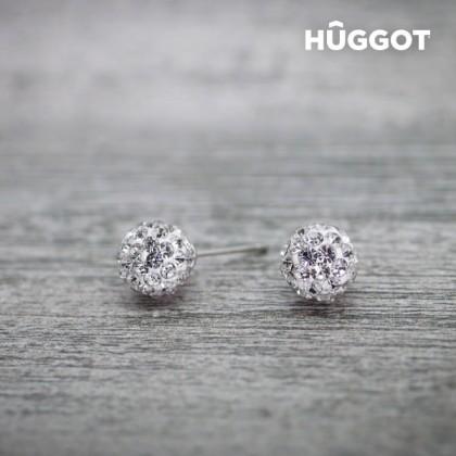 Cercei din Argint Sterling 925 cu Zirconii Radiance Hûggot