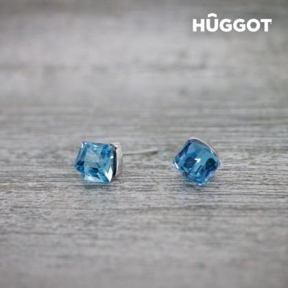 Cercei din Argint Sterling 925 Dimension Hûggot Creaţi cu Cristale Swarovski®