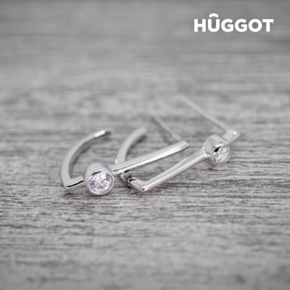 Cercei din Argint Sterling 925 cu Zirconii Hook Hûggot