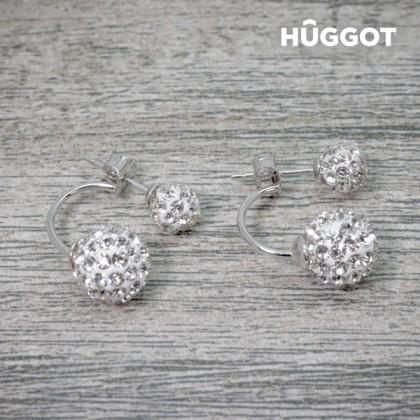 Cercei din Argint Sterling 925 cu Zirconii Isabella Hûggot