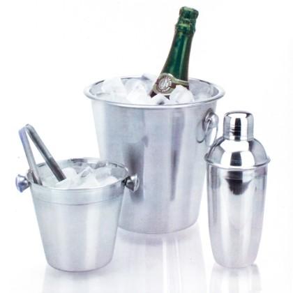 Set Frapiere și Cocktail Shaker din Oțel Inoxidabil (4 piese)