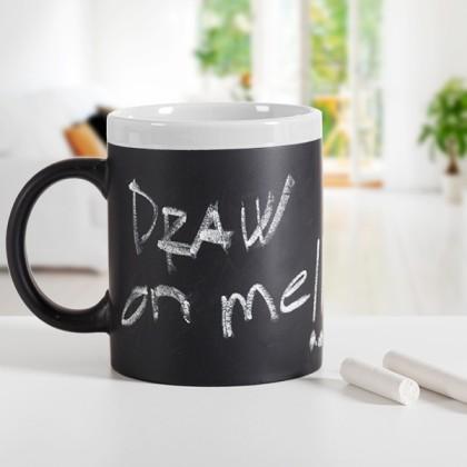 Cană ceramică tablă de scris