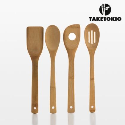 Ustensile de Bucătărie din Bambus (5 piese)