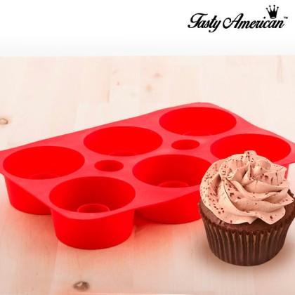 Formă din Silicon pentru Cupcakes Tasty American