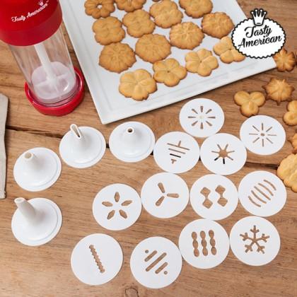 Aparat pentru Făcut Biscuiţi cu Accesorii Tasty American