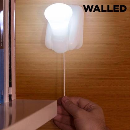 Lumină LED Portabilă cu Cordon Walled LB15 (pachet de 3)