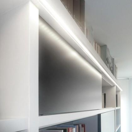 Bandă LED Albă pentru Interior MegaLed (90 LED)