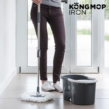 Mop Rotativ cu Găleată Kong Mop Iron