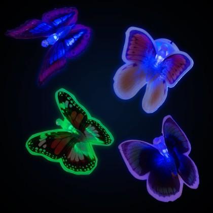Fluture LED cu Ventuză