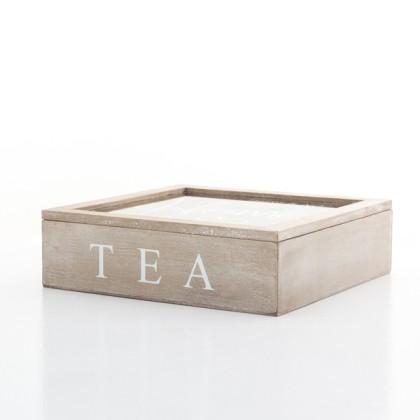 Cutie de Ceai din Lemn Home