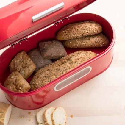 Cutie Metalică Retro pentru Pâine
