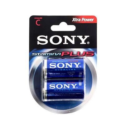 Baterii Alcaline Xtra Power Sony C LR14 1,5V (pachet de 2)