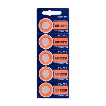 Baterii Buton cu Litiu Sony CR1220 3V (pachet de 5)
