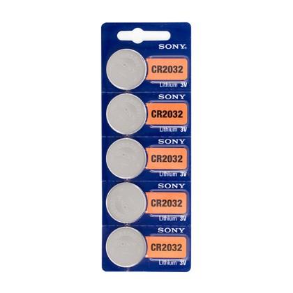 Baterii Buton cu Litiu Sony CR2032 3V (pachet de 5)