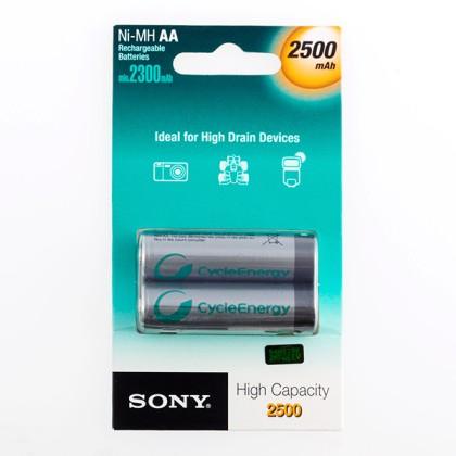 Baterii Reîncărcabile Sony Ni-MH AA 2500 mA 1,2V (pachet de 2)