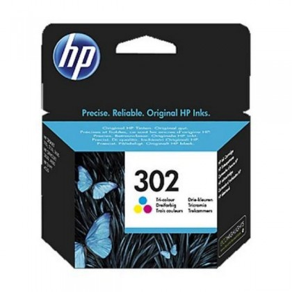 HP 302 F6U65AE Cartuș Cerneală Color Officejet 3830