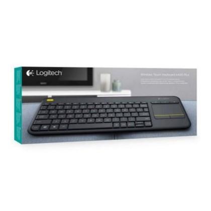 Logitech Tastatură K400 920-007137 Plus Negru