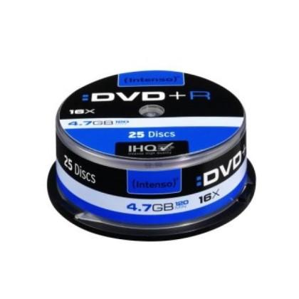 Intenso DVD+R 4.7GB 16x Cutie 25unități