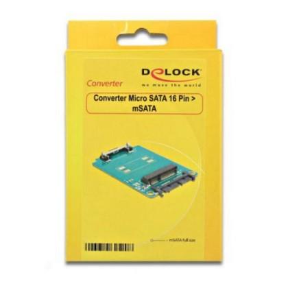 DELOCK Micro Convertitor SATA > mSATA