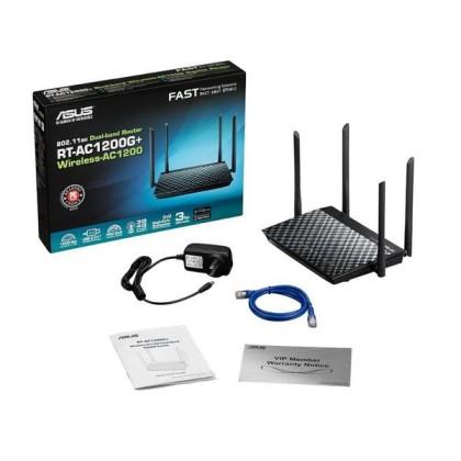 ASUS RT-AC1200G+ Router AC1200 4P 1xUSB 2.0
