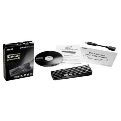 ASUS USB-N53 WiFi card de rețea N300 USB 3.0