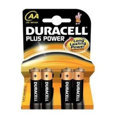 Duracell Baterie Alcalină Plus Power LR6 AA Pachet-4