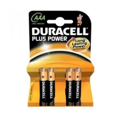Duracell Baterie Alcalină Plus Power LR3 AAA Pachet-4