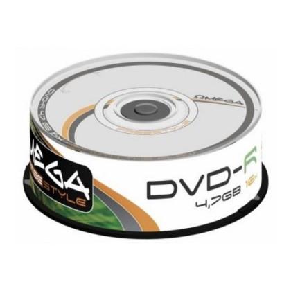 Omega DVD-R 4.7GB 16x Cutie 25unități