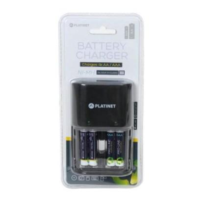 PLATINET PACR34 Încărcător+4 baterii R03 900mAH