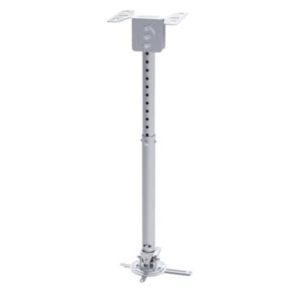 TooQ suport proiector de perete ajustabil/rotativ. Argintiu