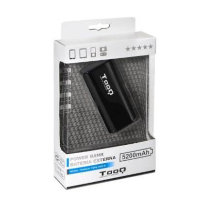 TooQ Power Bank 5200 + Lanternă Negru