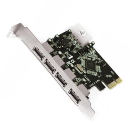 approx! APPPCIE4 Control card. PCI-E 4 Ptos USB30