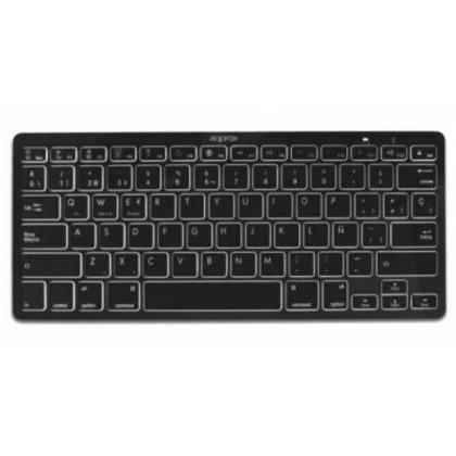 approx APPKBBT02B Bluetooth Tastatură 3.0 Negru