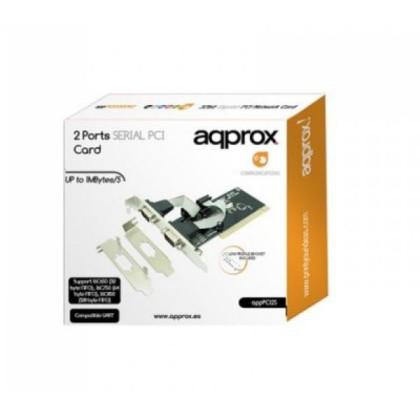 approx! APPPCI2S Control card. 2 Serie PCI LP&HP