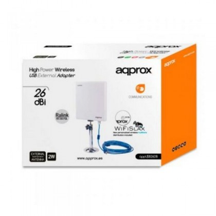 approx APPUSB26DB Antenă Direcțională Panou.USB 26dBi