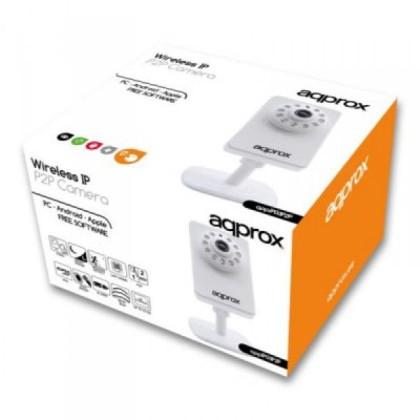 approx APPIP03P2P Cameră IP WiFi VGA Ir P2P mSD