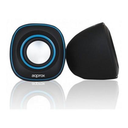 approx Difuzor 2.0 Multimedia SPX2 Negru-Albastru