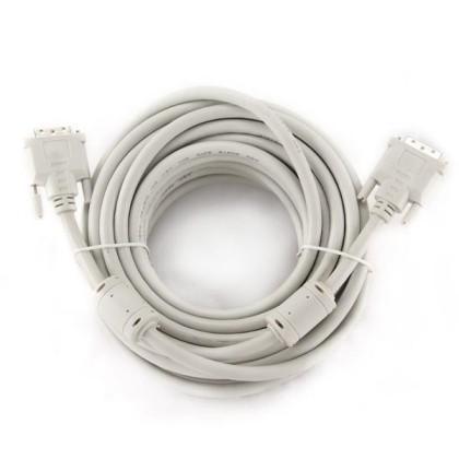 iggual Digital Video Cablu DVI-D Dual 10 M. Alb