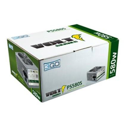 3GO Sursă de Alimentare 580W (24pin+Sata+12cm)