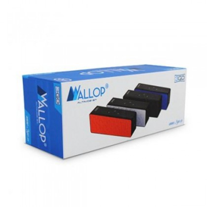 3GO Difuzor Wallop Bluetooth 4.0 Micro sd Alb