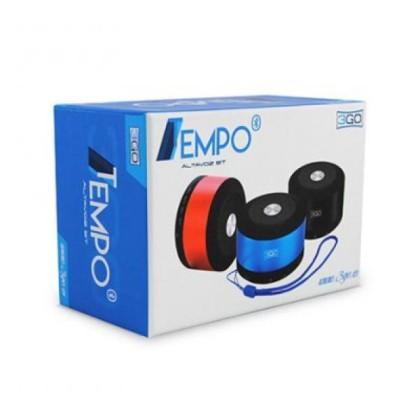 3GO Difuzor Tempo Bluetooth 4.0 Micro sd Albastru