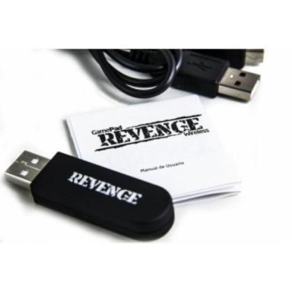 B-Move Gamepad Revenge BG PS3/PC Negru