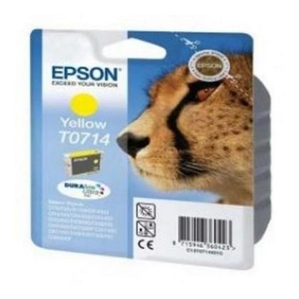 EPSON T0714 cartuș de cerneală galben Stylus D78/DX4000