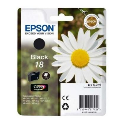 EPSON T1801 cartuș de cerneală negru XP225/322/422