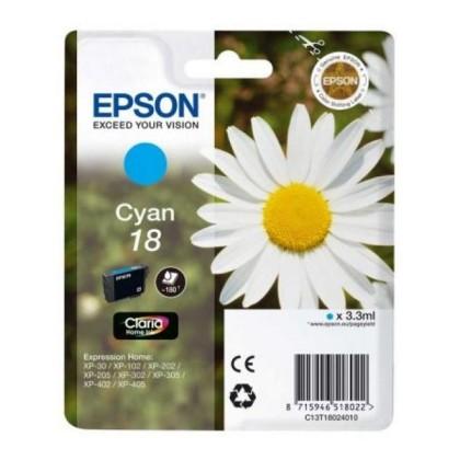 EPSON T1802 cartuș de cerneală albastru XP225/322/422
