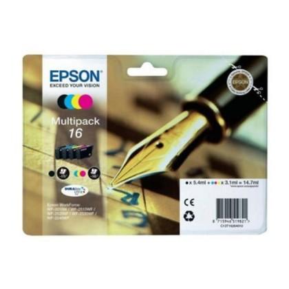 EPSON MultiPachet Cartuș Cerneală T16 WF2630/2650/2660