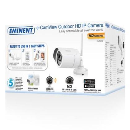 EMINENT EM6230 Cameră IP HD Exterior p2p w/APP