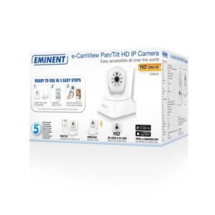 EMINENT EM6225 Cameră IP HD Pan Tilt p2p w/APP