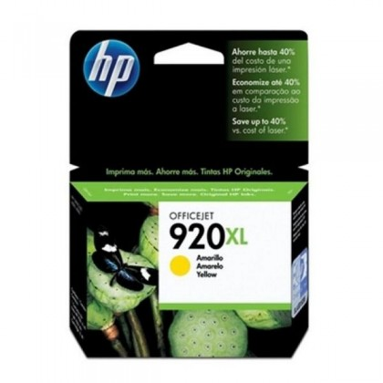 HP 920XL CD974AE cartuș de cerneală galben Officejet