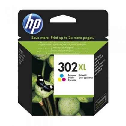HP 302XL F6U67AE Cartuș Cerneală Color Officejet 3830